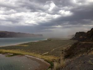 Banks Lake storm