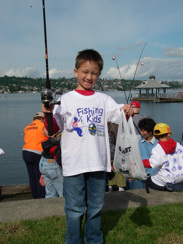 Take a child fishing overlake fly fishing club for Take a kid fishing